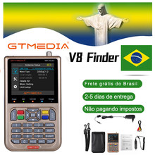 GT MEDIA /Freesat V8 Finder Meter DVB-S2/S2X Digital Satellite Finder High Definition Sat Finder Satelliten Meter Satfinder 1080P