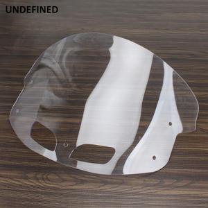 Image 5 - Limpar motocicleta windshield windscreen defletores de vento para o indiano chieftain roadmaster cavalo escuro 2014 2019