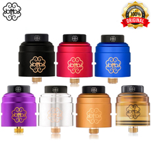 Original dotRDA 24mm V1.5 RDA Dotmod RDA plated in 24k gold Electronic Cigarettes Atomizer 510 thread