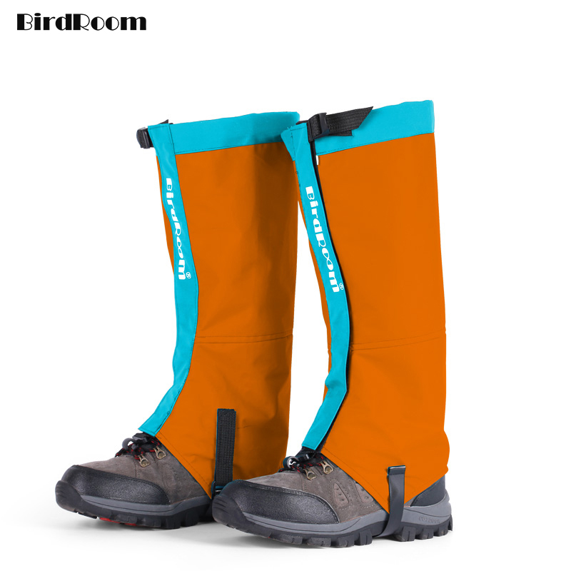 Mountain Hiking Legs Cover Women Snow Skiing Sports Waterproof Gaiters Shoes Covers Men Biking Snowboarding Desert Protective