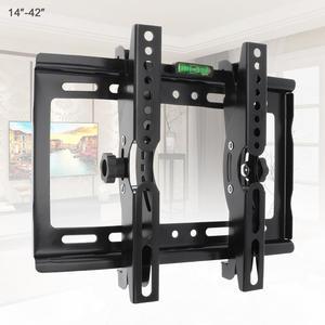 Universal 25KG Adjustable TV Wall Mount Bracket TV Holder Stand Support 15 Degree Tilt for 14-42 Inch LCD LED Monitor Flat Panel(China)