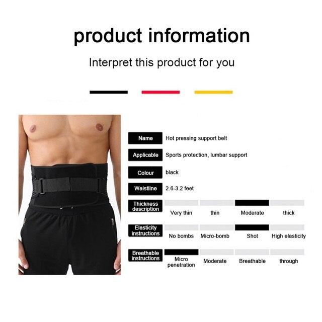 2020 Hot Sale Waist Trainer & Trimmer Sweat Belt For Men & Women Fitness Shapewear Wrap Tummy Stomach Weight Loss Fat 1