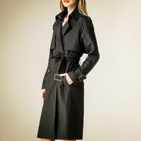 Trench Coat For Women Spring Coat Double Breasted Long Slim Windbreaker Casaco Feminino Autumn Outerwear Abrigos Mujer LX2626