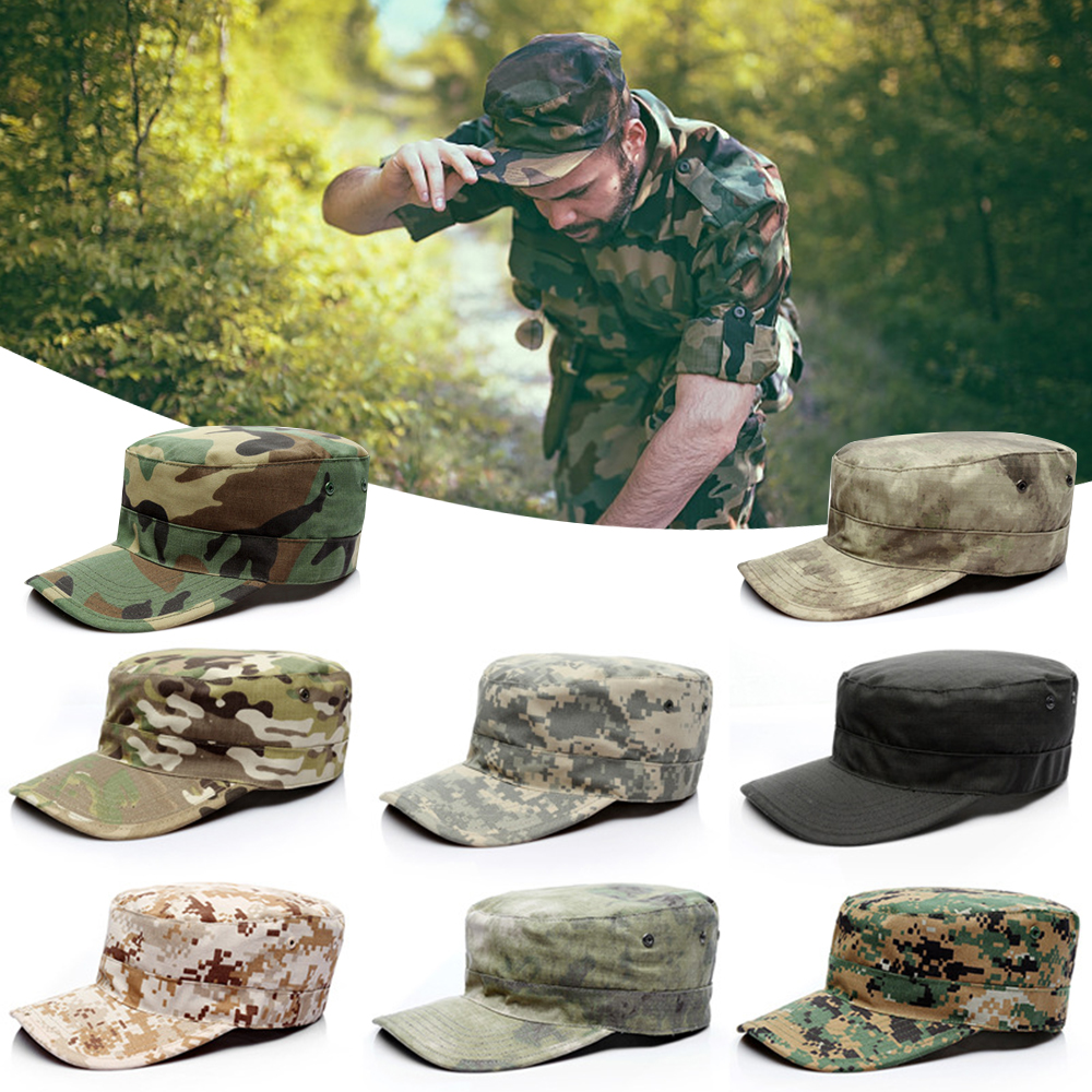 Military Camo Hat  Outdoor Hiking Hunting Baseball Cap  Mens Cycling Fishing Camping Jungle Army Cap Gorra Camuflaje