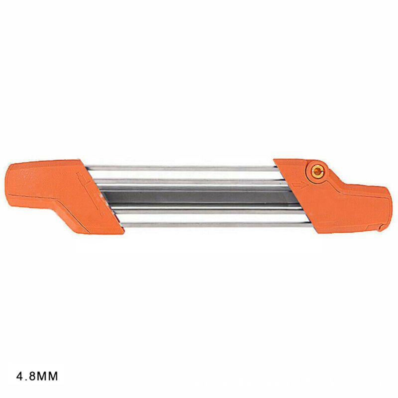 BIlinli Motosierra Dientes Afilador de Metal de Archivo r/ápido Cadena de .325para STIHL