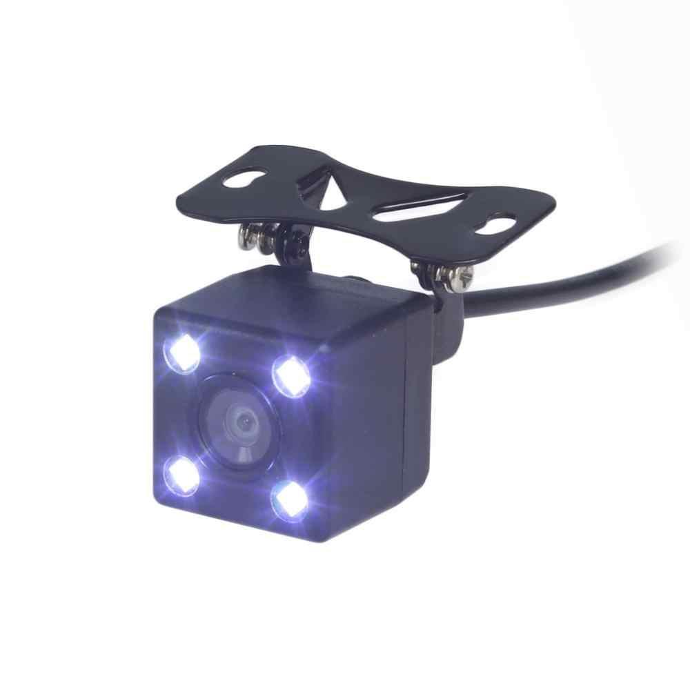 DIYKIT 5 inch 800x480 HD Auto Monitor Waterdicht Reverse LED Nachtzicht Backup Achteruitrijcamera Auto Camera met monitor