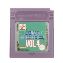 For Nintendo GBC Video Game Cartridge Console Card Konami GB Collection Vol.4 English Language Version
