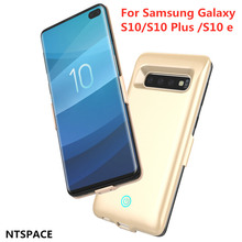 NETSPACE 6000mAh External Mobile Power Bank  Ultra-Thin Portable Battery Case Charger Cover for Samsung Galaxy S10e Battery Case