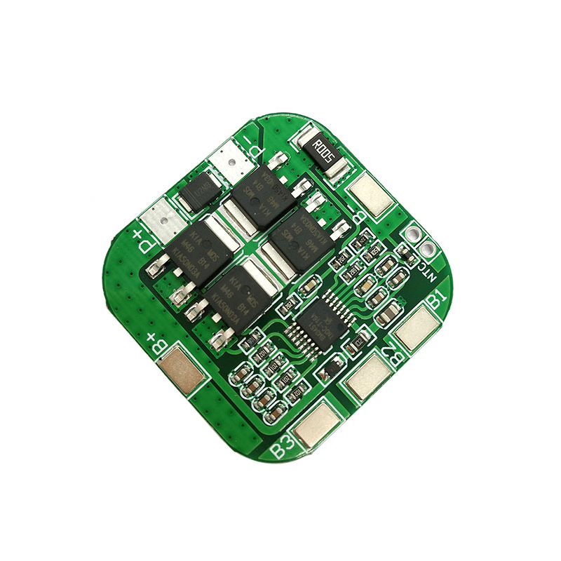 <font><b>4S</b></font> 14.8V / 16.8V 20A peak li-ion BMS PCM battery protection board bms pcm for lithium LicoO2 Limn2O4 <font><b>18650</b></font> li battery image