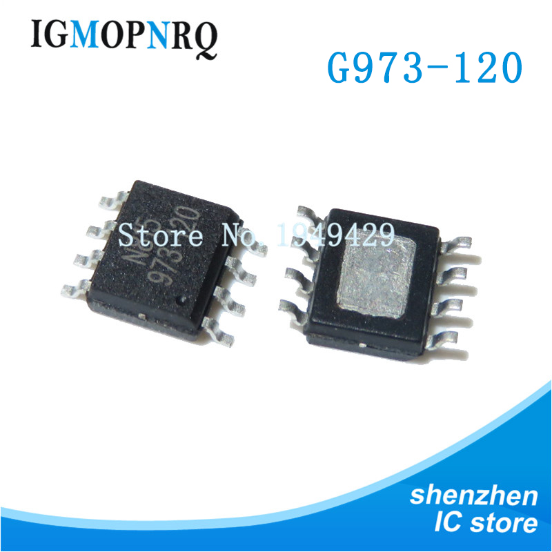 5pcs G973-120 SOP-8 G973-120ADJF11U SOP8 973-120 SOP New Original