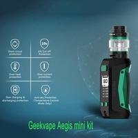 Original geekvape aegis mini kit com aegis mini mod & 5.5ml tanque cerberus 2200mah buitlt-na bateria vs aegis legend