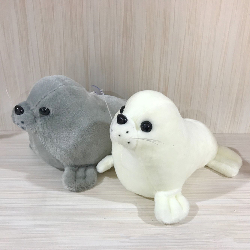 25cm Soft Seal Plush Toys Cute Sea World Animal Stuffed Doll Sea Lion Plush Children Gift(China)