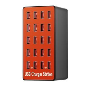Image 5 - כוח אוניברסלי מתאם עם quicky תשלום 3.0 USB מטען 20 יציאות USB רכזת תחנת עבור iPhone7 8 8 בתוספת X iPad סמסונג Huawei