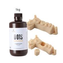 Resina uv 3d da resistência do risco da resina do modelo dental de resioned01s líquido para a resina anycúbica da resina de elegoo phrozen 3d