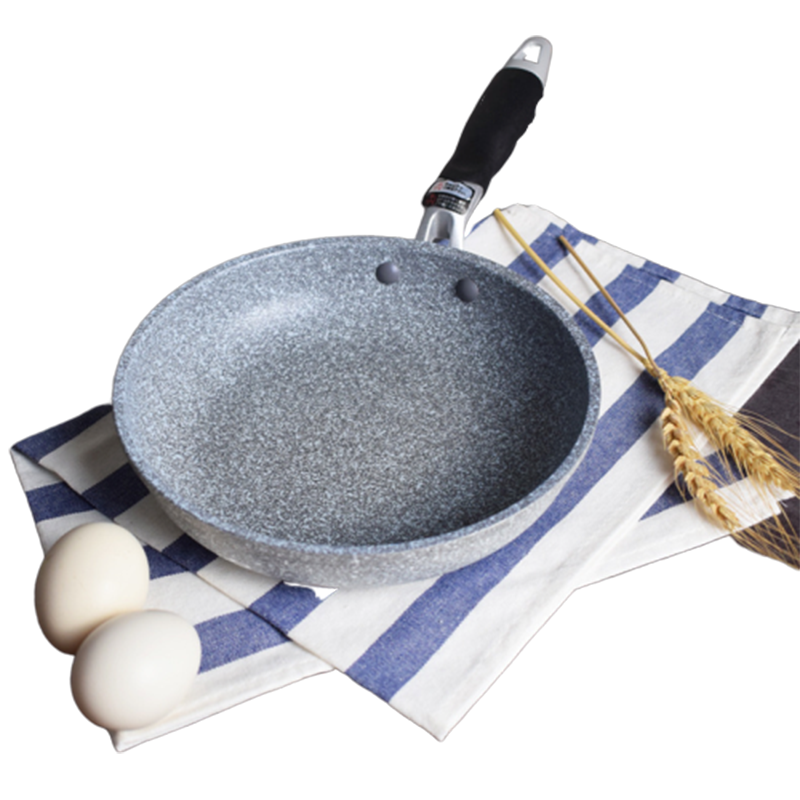 20&28 Inch Non-stick Copper Frying Pan With Ceramic Coating And Induction Cooking Oven & Dishwasher Safe Frying Pan