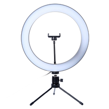 цена на Portable Led Table Lamp 6 Inch Fill Lamps 10 Levels Brightness Dimmable 3 Light Modes for Work Usb Desk Lights