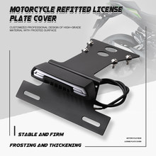 Fit XSR 900 Fender Eliminator Registration License Plate Holder For YAMAHA XSR900 14-20 LED Tail Light Turn signal Blinker Lamp
