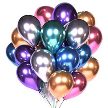 50/100pcs Metallic Latex Balloons 10/12 inch Gold silver Chrome Ballon Wedding Decorations Globos Birthday Party Supplies