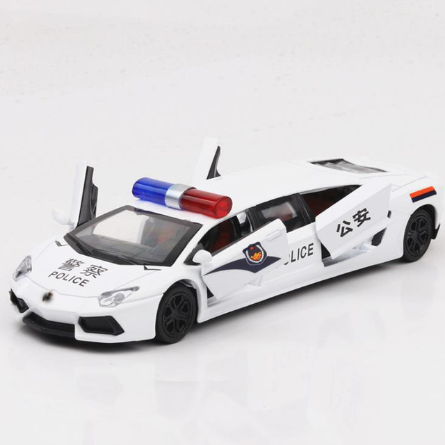 New 1:36 Police Alloy Car Model Diecasts & Toy Vehicles Toy Cars Educational Toys For Children Gifts Boy Toy