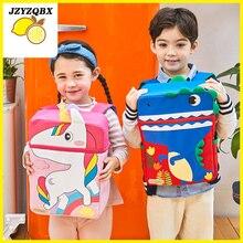 Karikatür Hayvan okul çantası okul sırt çantası Kız Erkek Anaokulu çocuk mochila Çocuk Çantası Ortopedik Satchel