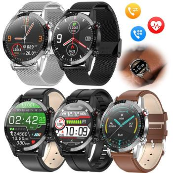 Men Women Luxury Smart Watch Bluetooth Smartwatch Heart Rate Sleep Monitor Fitness Tracker for  iOS Android Samsung LG