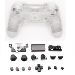 Image 2 - เชลล์กรณีคริสตัล Clear สำหรับ Playstation 4 Pro PS4 Slim Pro Controller 4.0 JDS 040 JDM 040 รุ่น 2 gen