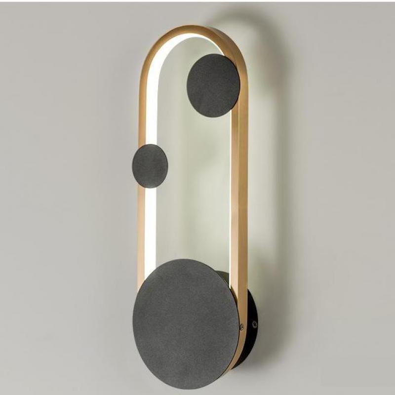 led criativo pos lampada de parede moderna sala de estar corredor decorar cama parede conduziu a
