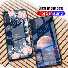 Tempered Glass Case For Samsung Galaxy Note 10 S10 S10e S9 S8 Plus 9 8 Shockproof Cover Samsun A50 A70 A20 A30 M20