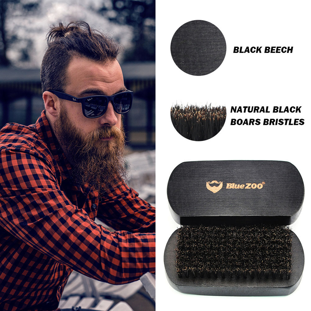 4PCS Hair Comb for Barber Hair Style Heat-resistant Large beard brush Comb For Men Hair Styling Tool Set Amber Hairdressing Comb