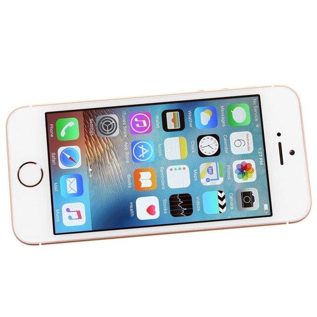 Apple iPhone SE Original Unlocked Mobile Phone 16/64GB ROM 2G RAM 4G LTE Touch ID WIFI GPS Dual Core 4.0'' 12MP iOS CellPhone 3