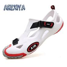 Summer Men Sandals Crocks Crocse Outdoor Water Shoes Comfortable Women Beach Sandals Non-slip