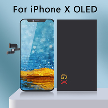 5 Pcs/lot Quality AAA Gx AMOLED No Dead Pixel For IPhone X LCD Display Touch Screen 5.8 Digitizer Assembly Replacement Pantalla