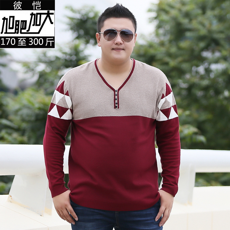 Large Size 8XL Cashmere Sweater Men  New Arrival Winter Thick Warm Mens Sweaters V-Neck Wool Pullover Men Knitwear Pullovers