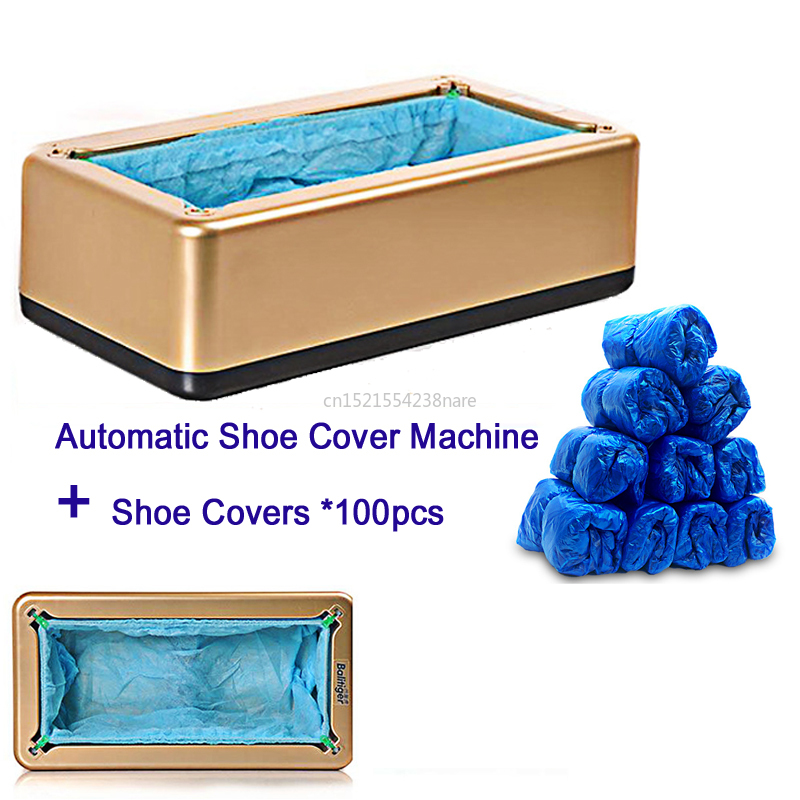 22%,Automatic Shoe Cover Machine Intelligent Shoe Sleeve Tool Disposable Foot Cover Machine Shoe Film Device With Cover*100pc