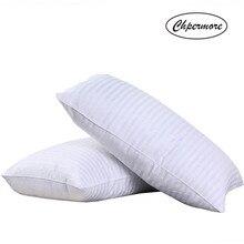 Chpermore 100% travesseiro de seda amoreira cinco estrelas memória travesseiros 48*74cm ortopédico pescoço travesseiro com cobertura de algodão dormir saúde