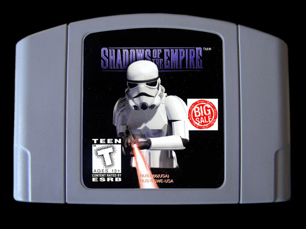 64bit game ** Shadows of the Empire ( USA Version!! ) image