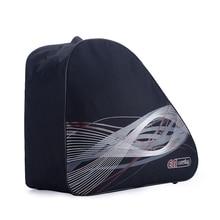 Black Adult Roller Ice Inline Skate Shoes Ski Snow Boots Bag Portable Oxford Carry Shoulder Big Capacity Waterproof