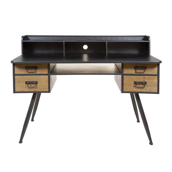 Desk Painted Iron (135 X 60 X 95 Cm)