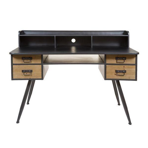 Desk Painted iron (135 X 60 x 95 cm)      - title=