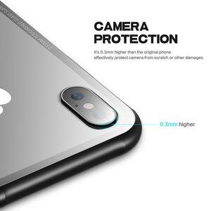 Image 3 - FLOVEME Gehärtetem Glas Telefon Fall Für iPhone 7Plus Fällen 8Plus XS 8 11Pro MAX 11 Für iPhone 7 abdeckung X 11 PRO Transparent Fundas