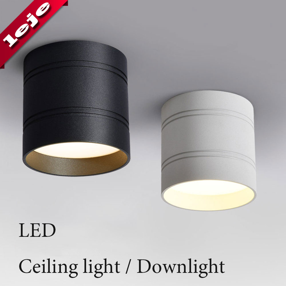 LED Ceiling Light Dimmable No Opening Down Light 18W 15W 9W 6W Ceiling Lamps For Kitchen,balcony,library,bathroom,shop,Office