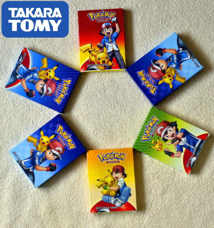 20pcs 25pcs TAKARA TOMY Pet Pokemon Cards The Newest Style In 2019 Pokemon  GX Card The Toy Of Children  Kids Toys