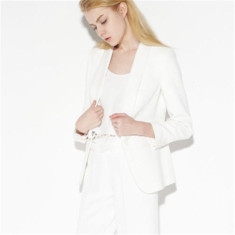 Women Blazers And Jackets Spring Autumn Slim Single Button Blazer Feminino Fashion Casual Ladies Blazers CJ064