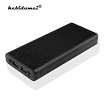 Usb-Battery-Box Power-Bank Mobile-Phone-Charger 20000mah Shell-Case 8--18650 5V for iPhone