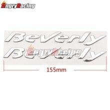Motocicleta 3d adesivos emblema distintivo decalque para piaggio beverly