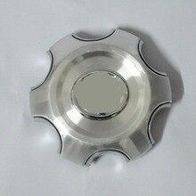 4 قطعة 140 مللي متر 95 مللي متر الفضة كامل كروم عجلة غطاء عجلة مركزي سبيكة hubcap صالح 2007 2013 تويوتا لاند كروزر 4000 برادو 4.0L