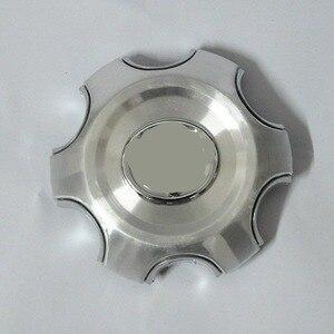 4pcs 140mm 95mm Silver Full Chrome Wheel center Hub Cap Alloy hubcaps Fit 2007-2013 Toyota Land Cruiser 4000 Prado 4.0L(China)