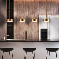 مصمم الحديثة الشمال أنبوب حديد نصبت تركيبات إضاءة LED ريفي مصباح إضاءة متدلّي طقم إضاءة لتناول الطعام المنزل فن الديكور الإنارة|أضواء قلادة|   -