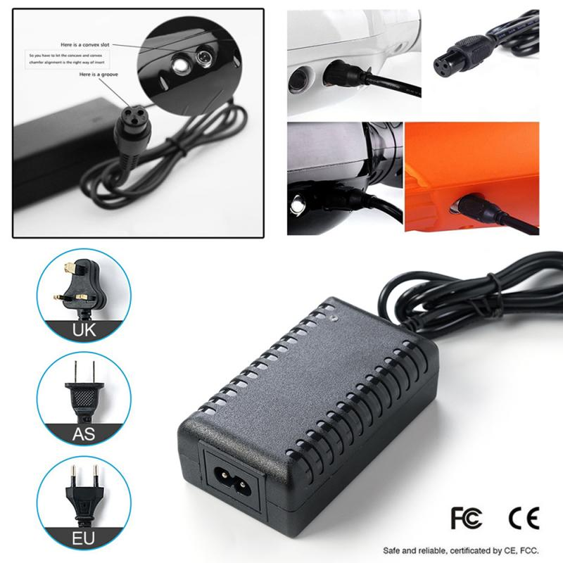 HOT Power Adapter Battery Charger Electric Scooter For Balance Car Skate Board Electric Scooter Charger AU/US/EU/UK Plug Charger