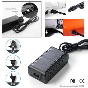 HOT Power Adapter Battery Charger Electric Scooter For Balance Car Skate Board Electric Scooter Charger AU/US/EU/UK Plug Charger image